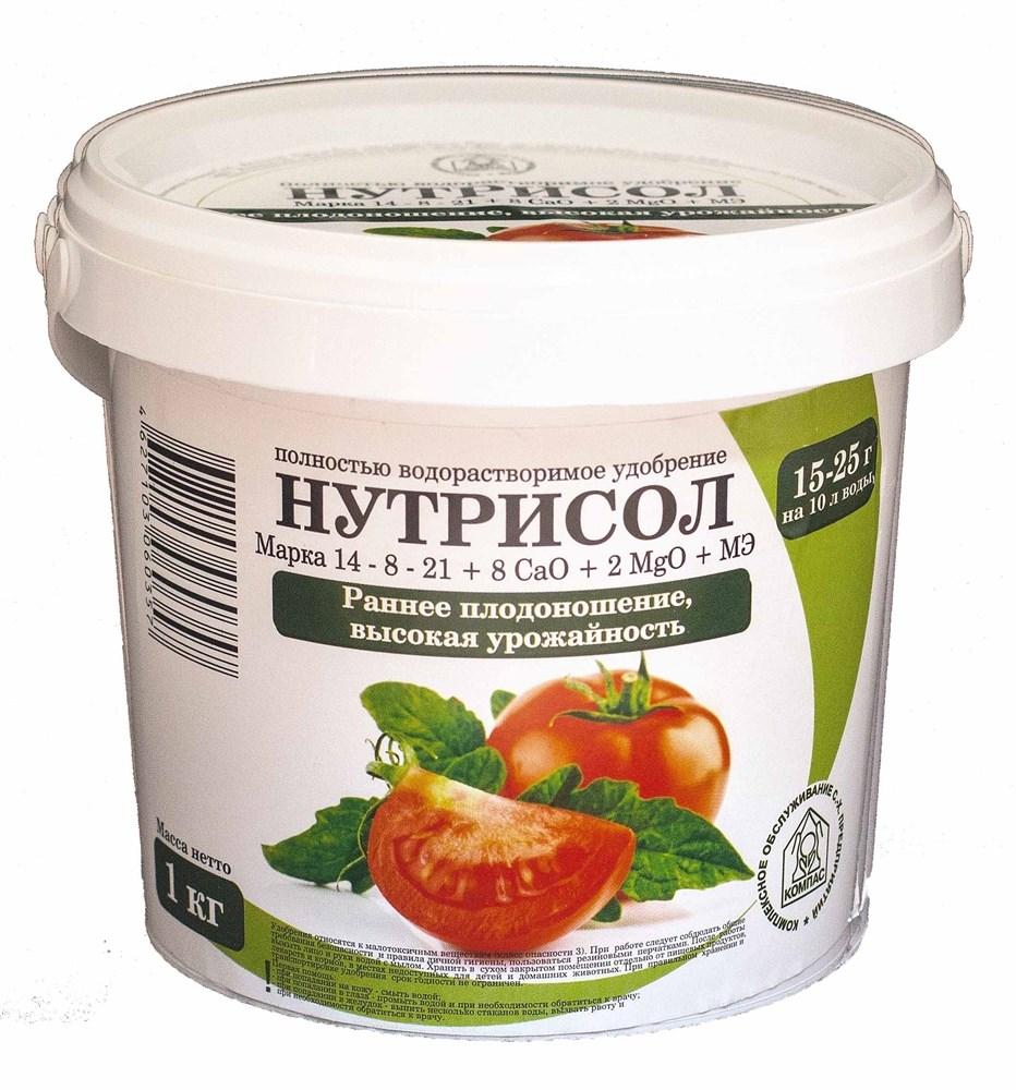 Нутрисол для томата (14-8-21-8 CaO+2 Мg+микроэлементы)