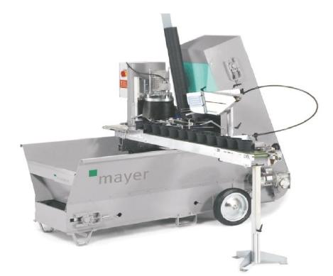 Машина для наполнения цветочных горшков ТМ 2105