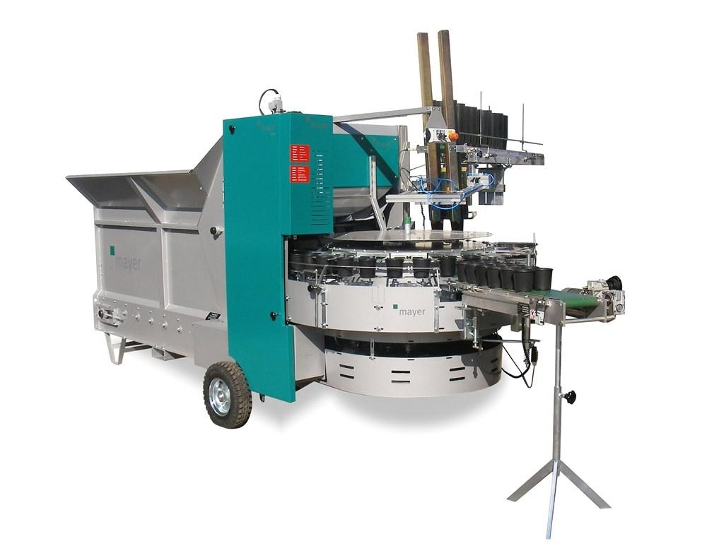 Машина для наполнения цветочных горшков ТМ 2400DR