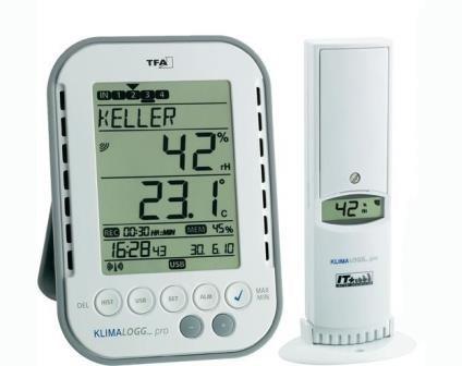 Профессиональный беспроводной термогигрометр