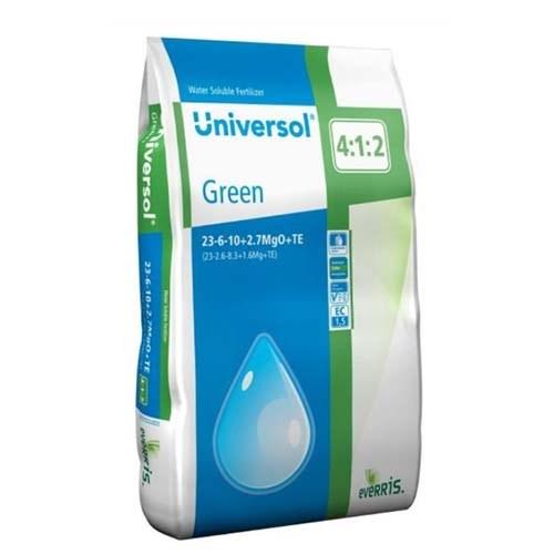 Универсол Зеленый (23-6-10+2,7MgO+МЭ) - 25 кг