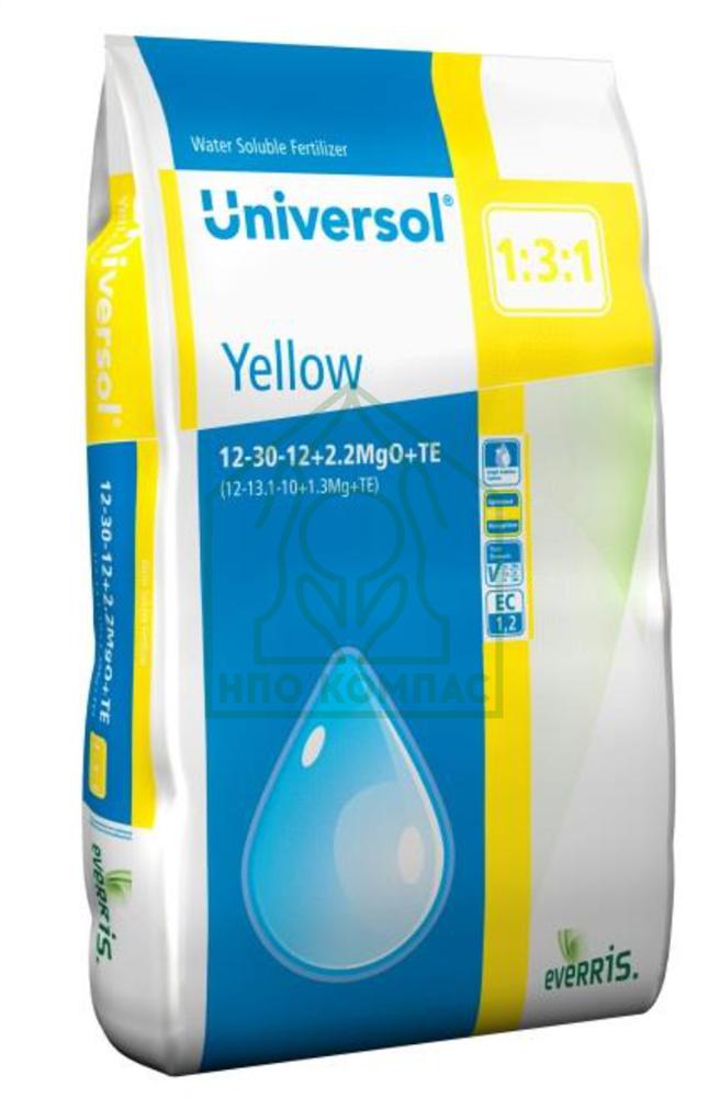 Универсол Жёлтый (12-30-12+2,2MgO+МЭ) - 25 кг