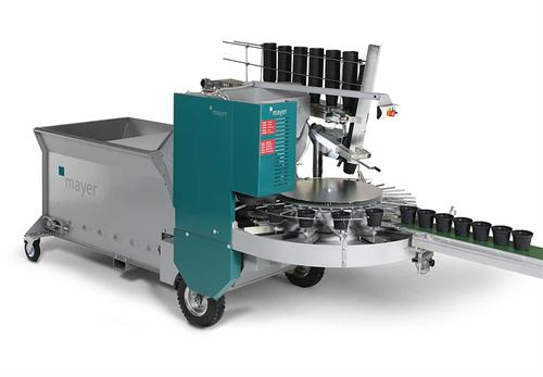 Машина для наполнения цветочных горшков ТМ 1010F ( T-16 / T-8 )