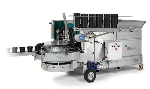 Машина для наполнения цветочных горшков ТМ 2400E