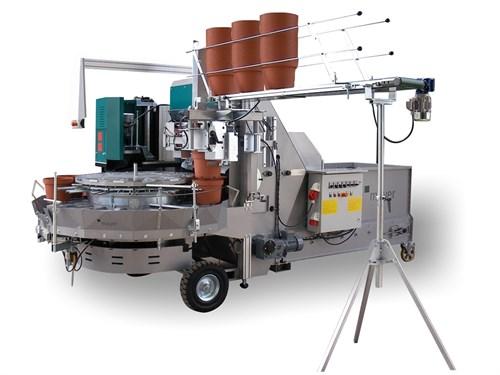 Машина для наполнения цветочных горшков ТМ 2432