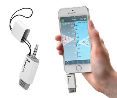"""SMARTHY"" - Термогигрометр для смартфонов"