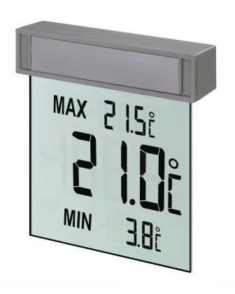 Оконный цифровой термометр