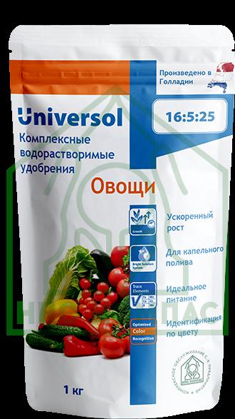 """Универсол """"Овощи"""" (16-5-25+3,4MgO+мэ)"""