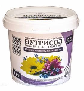 Нутрисол для цветов (15-5-30+2 Мg+микроэлементы)